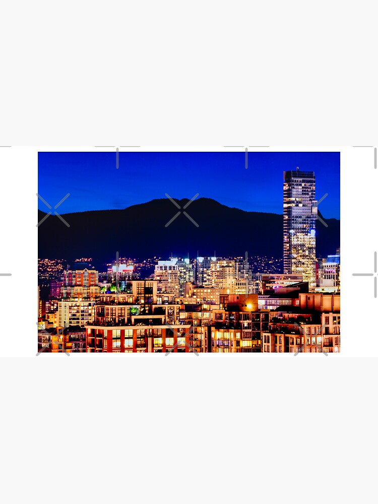 0596 Vancouver Shangri La Hotel Grousse Mountain Canada | Hotel Office Wall Art Home Décor by neptuneimages