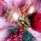 Abstract Ornament 5 by Rebecca Cozart