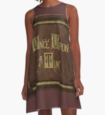 Once Upon A Time Book A-Line Dress