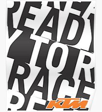 KTM Ready To Race II Poster