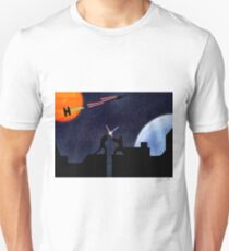 Lightsaber fight Unisex T-Shirt
