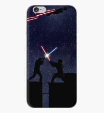Lightsaber fight iPhone Case