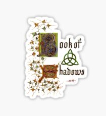 The Book of Shadows Sticker