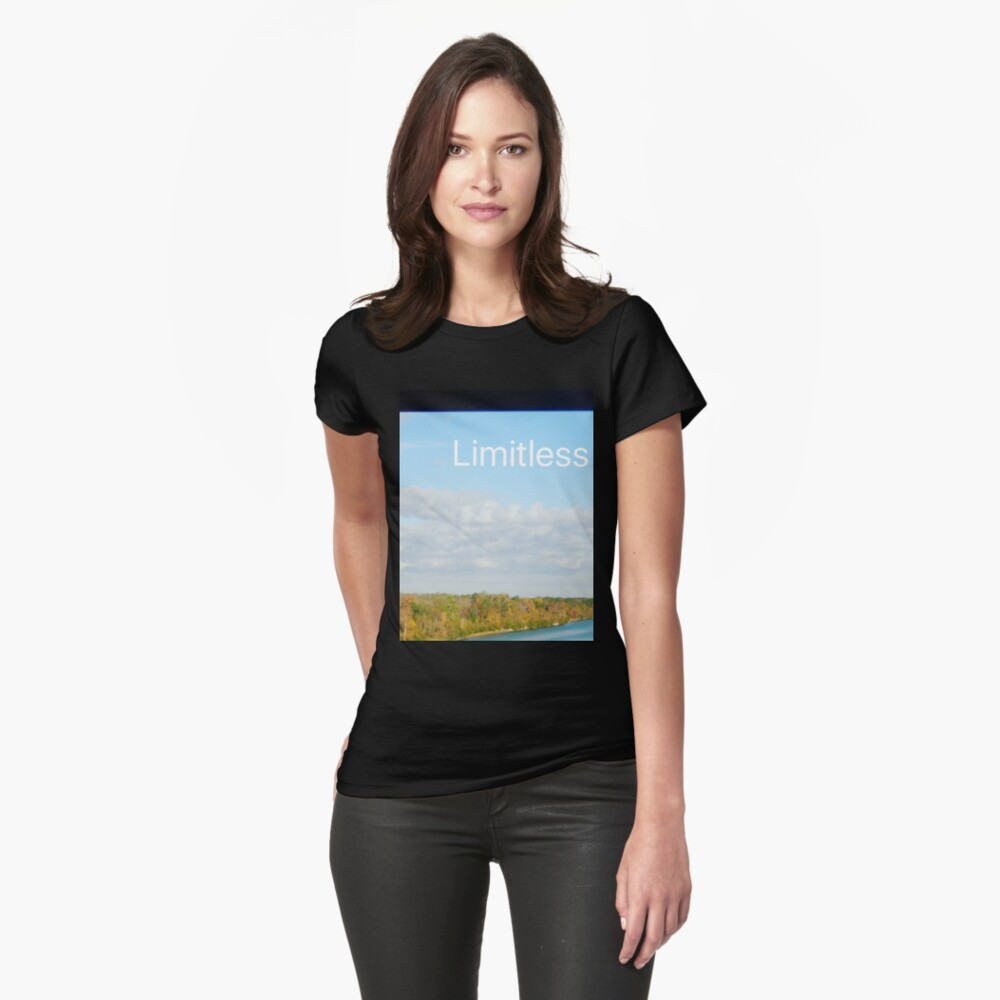 Limitless  Fitted T-Shirt