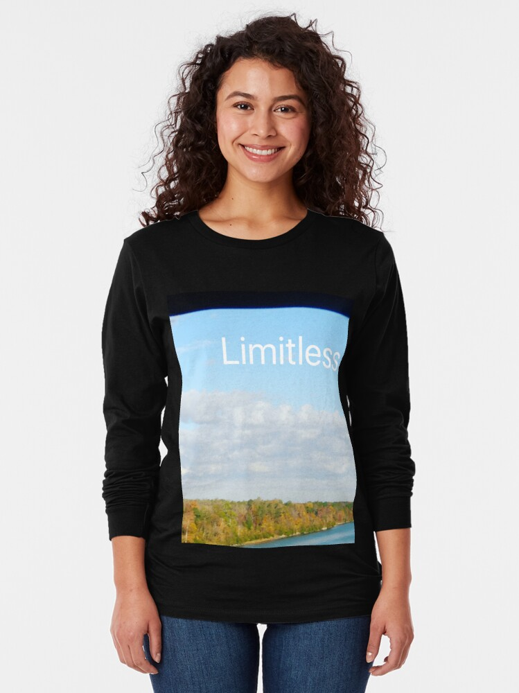 Alternate view of Limitless  Long Sleeve T-Shirt