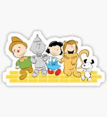 The Peanuts of Oz Sticker