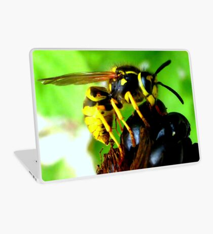 Blackberry with wasp Laptop Skin