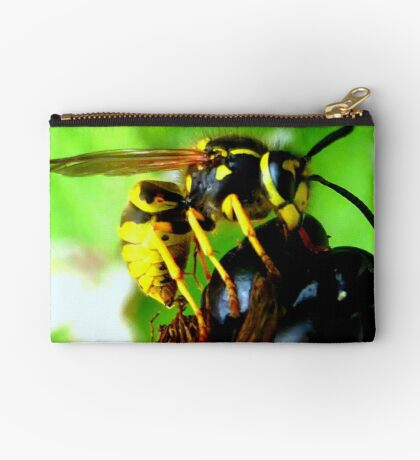 Blackberry with wasp Studio Pouch
