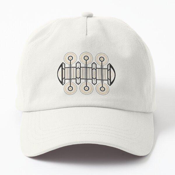 Karmic Light Code - Eyes of the Soul (Black & Gold) Dad Hat
