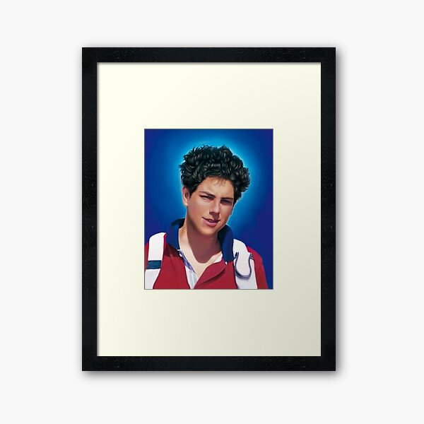 Blessed Carlo Acutis, Beato Carlo, Blessed Carlo Framed Art Print