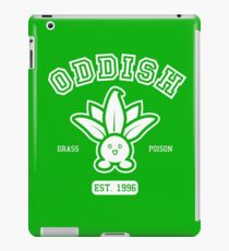 Oddish - College Style iPad Case/Skin