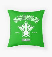 Oddish - College Style Throw Pillow