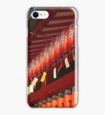 Lanterns for the Gods iPhone Case/Skin