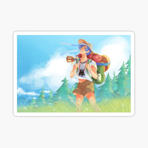 VOCALOID Traveling Kaito  Sticker