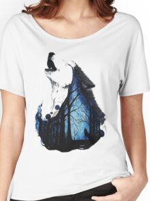Wolf Women's Relaxed Fit T-Shirt