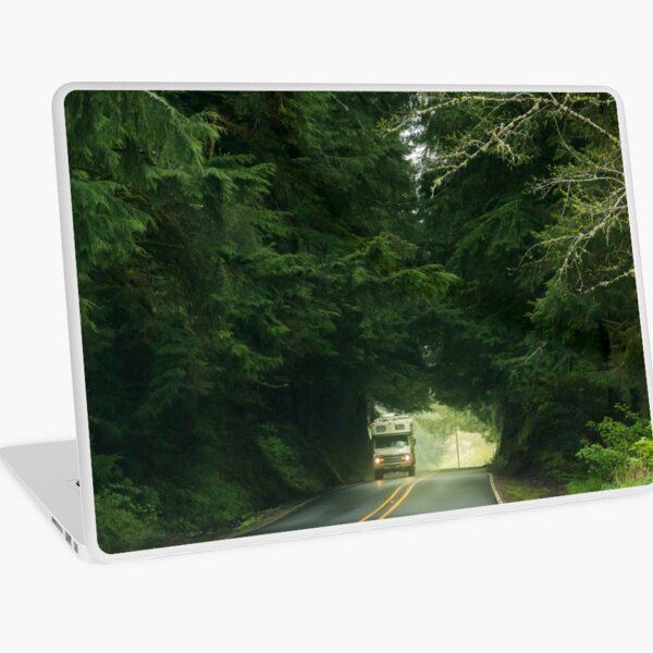 On the Road Again Laptop Skin