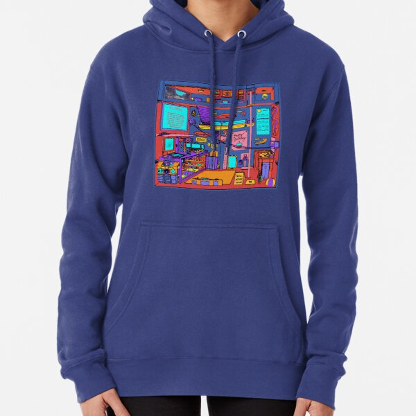 Unlached Pullover Hoodie