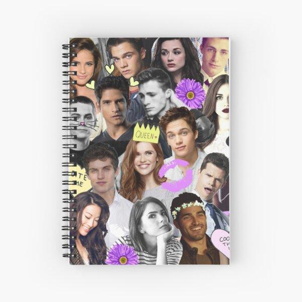 Teen Wolf Collage Spiral Notebook
