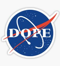 Dope nasa Sticker