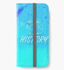 History Makers Yuri!!! On Ice iPhone Wallet/Case/Skin