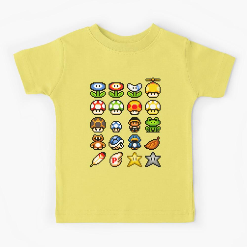 Powerups Camiseta para niños