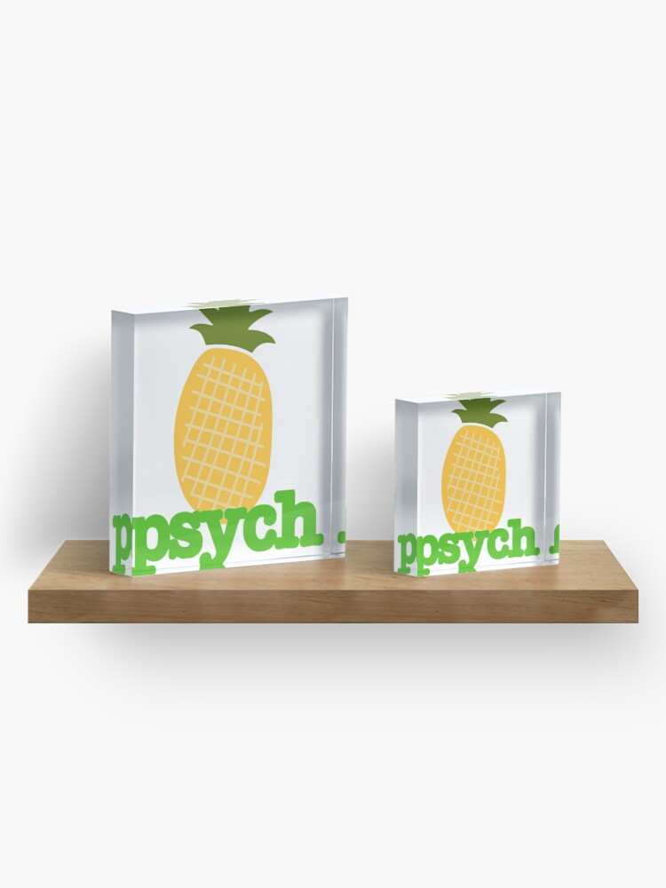 Alternate view of Psych - The Greatest Show on Earth Acrylic Block