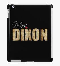 Mrs Dixon iPad Case/Skin