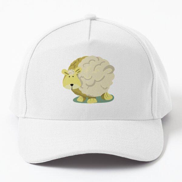 Lone sheep Baseball Cap