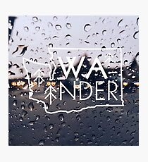 Wander Washington (Rainy Day) Photographic Print