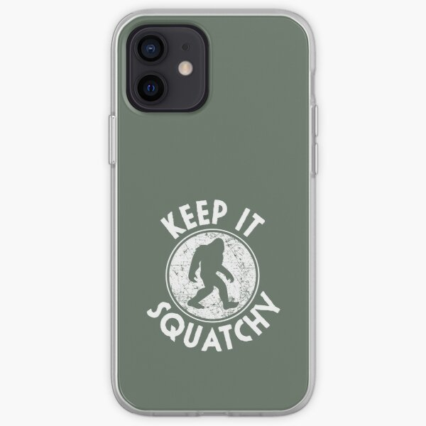 Keep It Squatchy Funny Bigfoot Sasquatch iPhone Soft Case