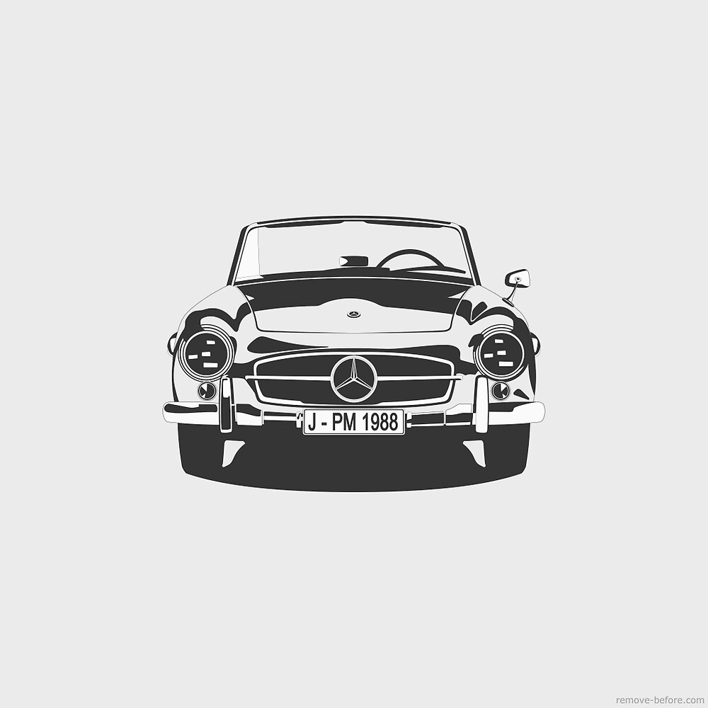 Mercedes SL 190 by remove-before