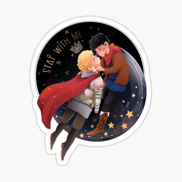 Stay with me_Merlin Sticker