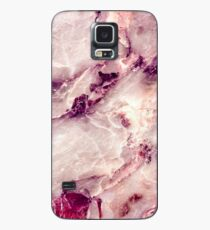 Pink Marble 01 Case/Skin for Samsung Galaxy