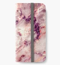 Pink Marble 01 iPhone Wallet/Case/Skin