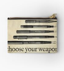 Choose Your Weapon Studio Pouch