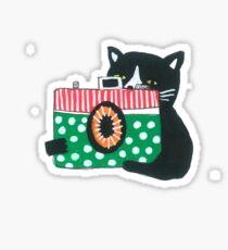 Photographer Cat Sticker