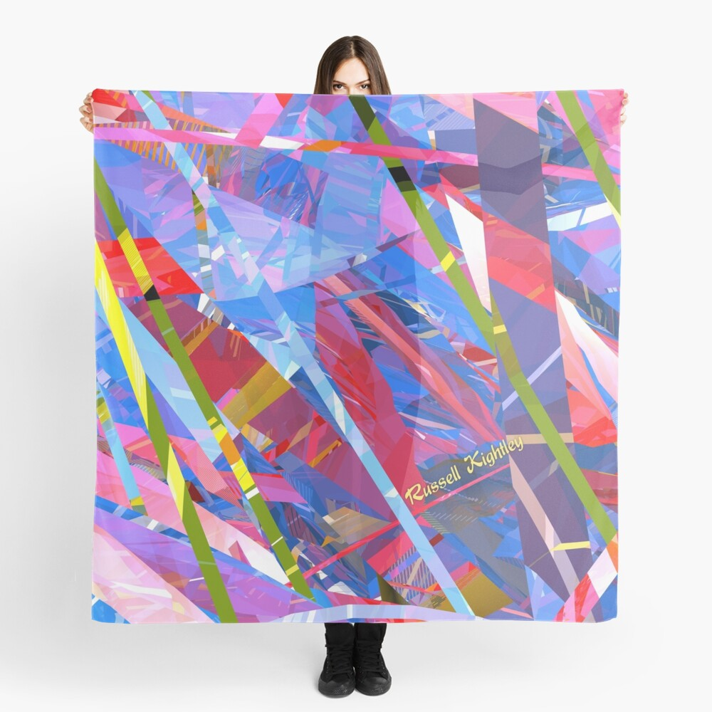Fractured Glass Scarf