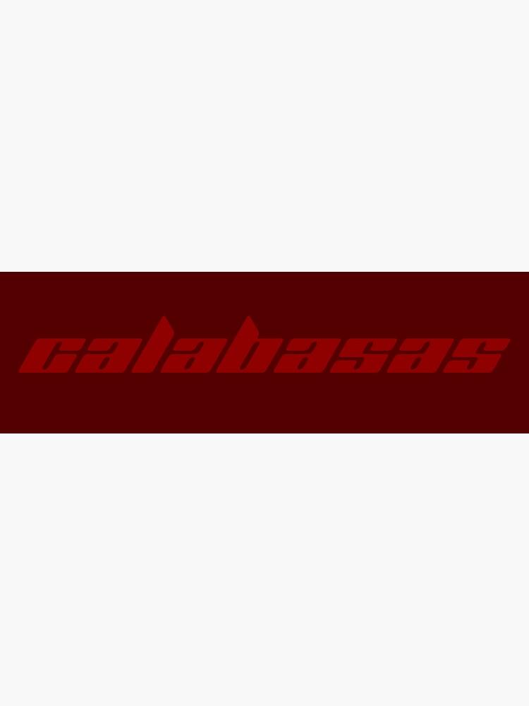 Adidas (Kanye) Calabasas Logo Sticker by LJM1999