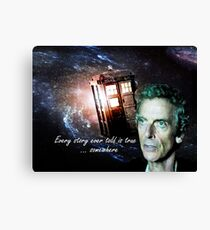 Somewhere...  (Dr. Who) Canvas Print