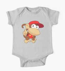 Super Smash Bros. Diddy Kong One Piece - Short Sleeve