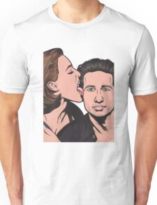 Mulder and Scully X Files Unisex T-Shirt