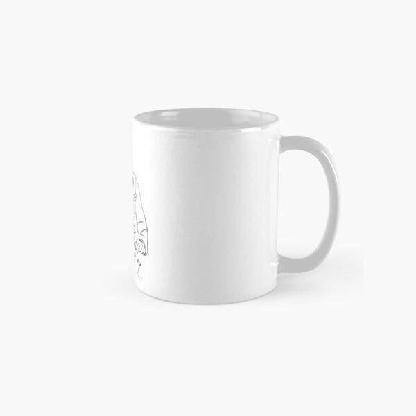Oscar Wilde stencil (black) Classic Mug