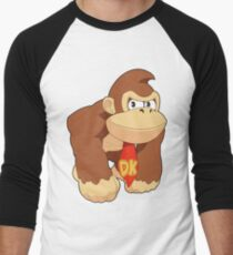 Super Smash Bros. Donkey Kong Men's Baseball ¾ T-Shirt