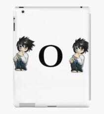 """Death Note """"L o L"""" iPad Case/Skin"""