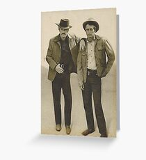 SUNDANCE KIDS, NEWMAN & REDFORD Greeting Card