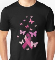 Breast Cancer Pink Awareness Ribbon T-Shirt