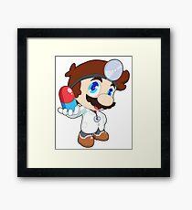 Super Smash Bros. Dr. Mario Framed Print