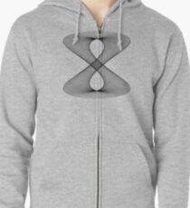Lissajous XXIX Zipped Hoodie