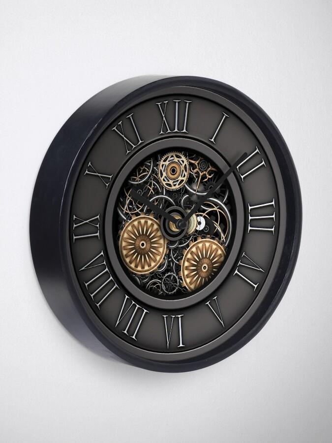 Alternate view of Vintage Steampunk Clock No.3 Clock