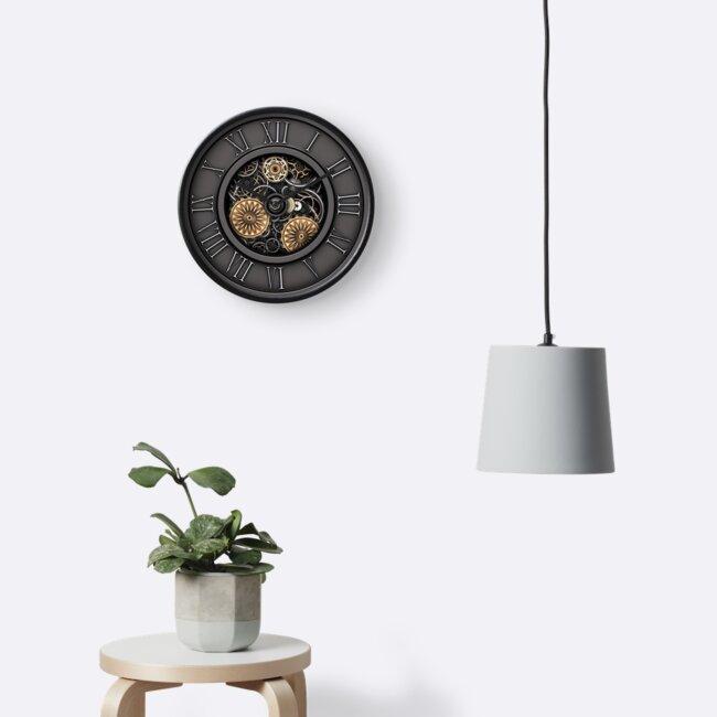 Vintage Steampunk Clock No.3 by Steve Crompton